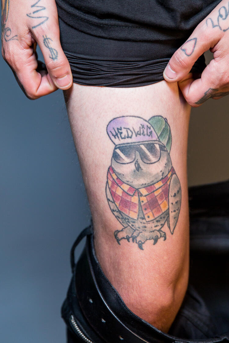Pierce the veil tattoos
