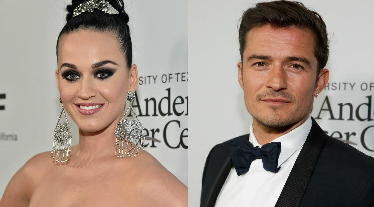 Orlando Bloom Grabs Katy Perrys Boobs During Beach