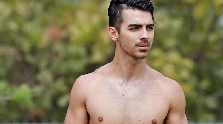 Joe Jonas Gets Shirtless On Day Of Dnce Album Announcement Photo
