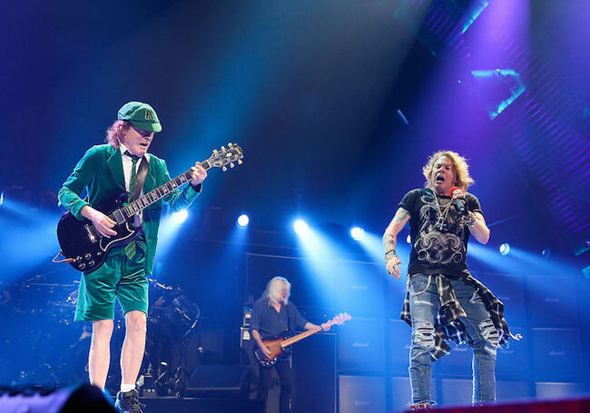 ACDC Axl and Cliff