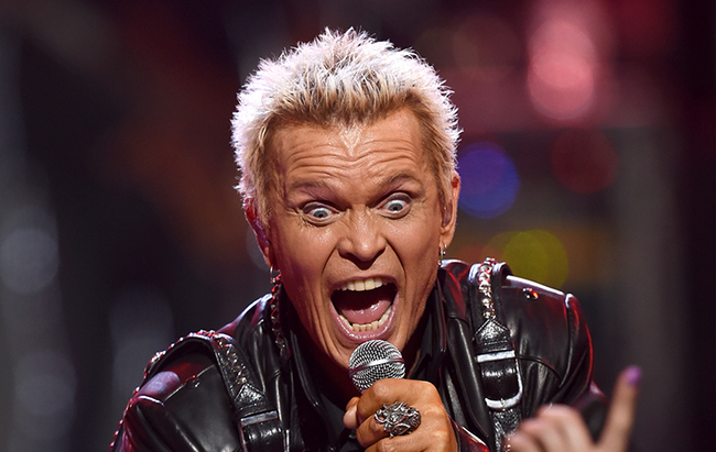 Billy Idol Scream