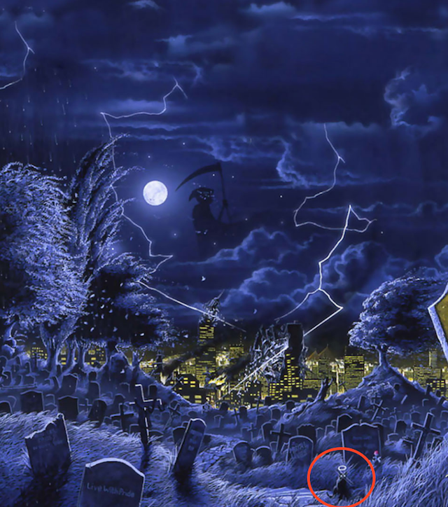 32 Hidden References On Iron Maidens Somewhere In Time Cover Wave