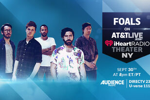 Foals on AT&T Live at the iHeartRadio Theater NY (WATCH)