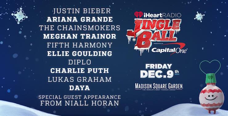 iHeartRadio Jingle Ball Niall