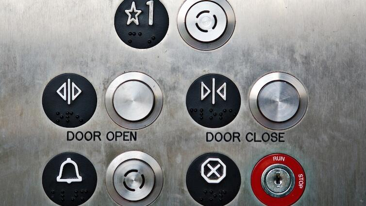 Elevator Push Buttons, Elevator Braille Buttons ...