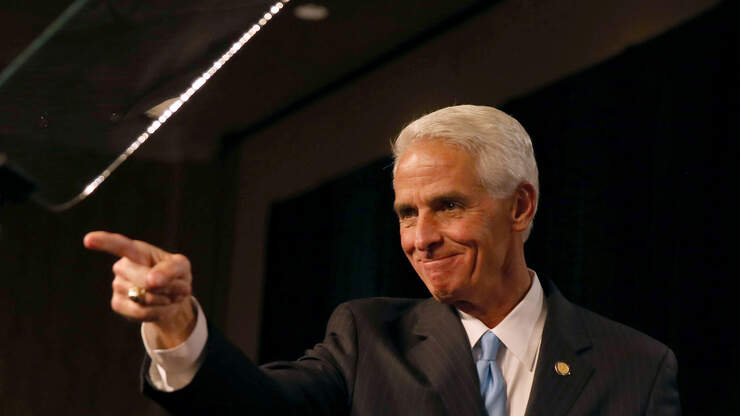 """Charlie Crist's """"Voting Rights"""" Tour Makes A Stop In West Palm Beach"""
