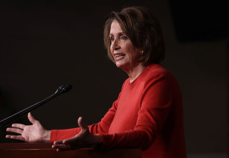 Democratic House Leader Nancy Pelosi Holds Her Weekly News Conference