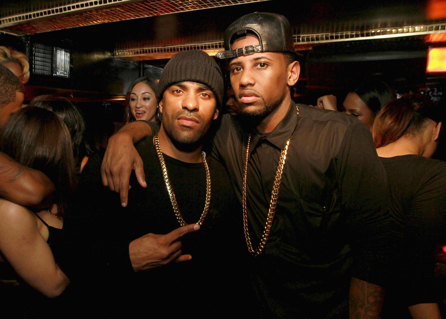 DJ Clue and Fabolous Photo