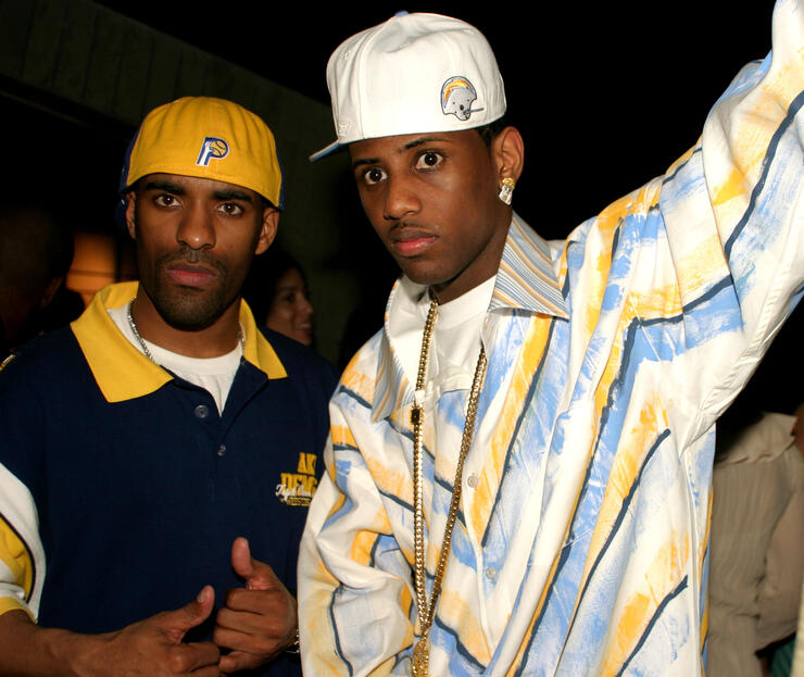 Young DJ Clue and Fabolous Photo