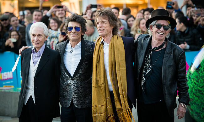 'The Rolling Stones: Exhibitionism' - Private View - Red carpet Arrivals