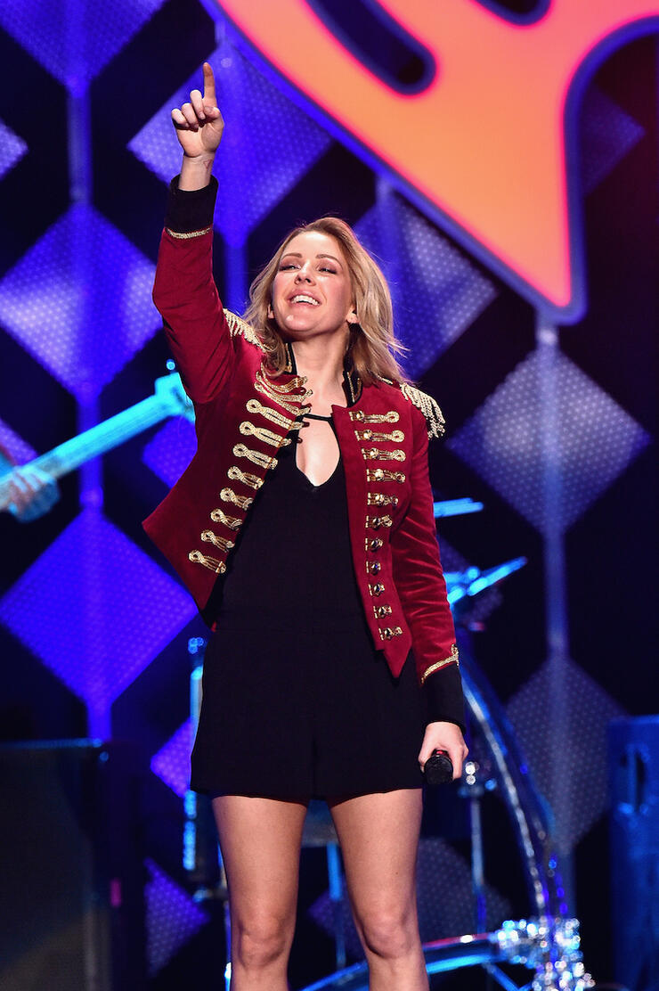 Ellie Goulding - Z100's Jingle Ball 2016 - SHOW