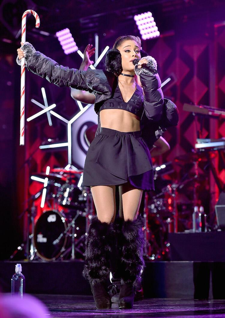 iHeartRadio Jingle Ball: Ariana Grande Brings \'Christmas & Chill ...