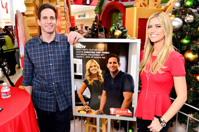 Tarek And Christina El Moussa, Hosts Of HGTV's Flip Or Flop, Visit Lakewood Center's Santa HQ