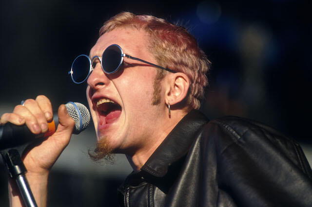 Layne Staley of Alice in Chains performing at Lollapalooza 93 at Shoreline Amphitheater in Mountain View Calif. on June 23rd, 1993.  Photo by Frank Micelotta/ImageDirect