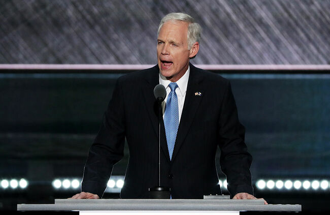 Senator Ron Johnson  speaks at the Republican National Convention: