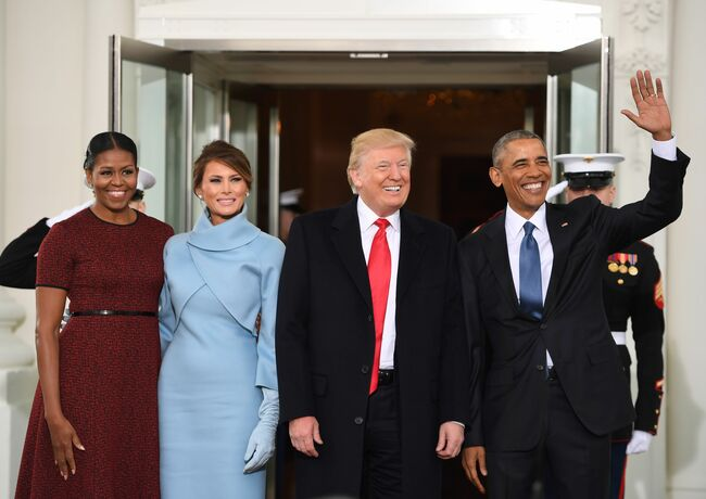 The Obamas and The Trumps.