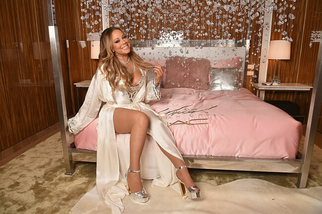M.A.C Cosmetics Mariah Carey Beauty Icon Launch In NYC