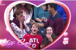 Kiss Cam Gone Wrong