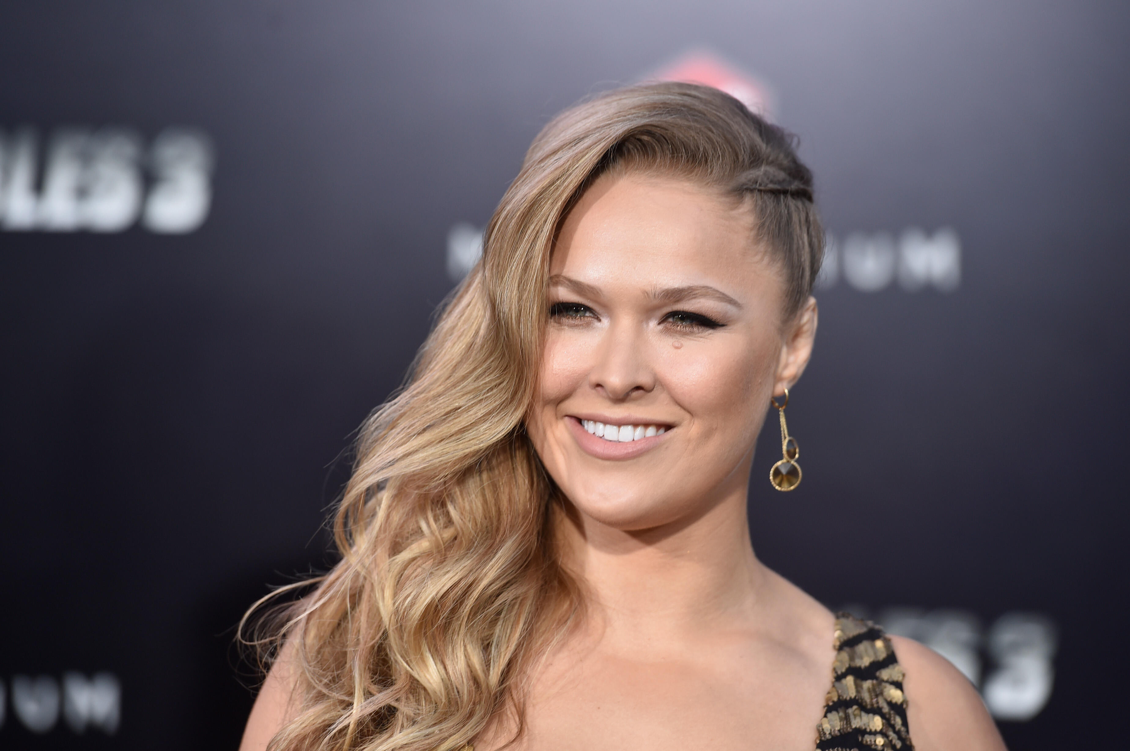 HOLLYWOOD, CA - AUGUST 11:  Actress Ronda Rousey attends Lionsgate Films'