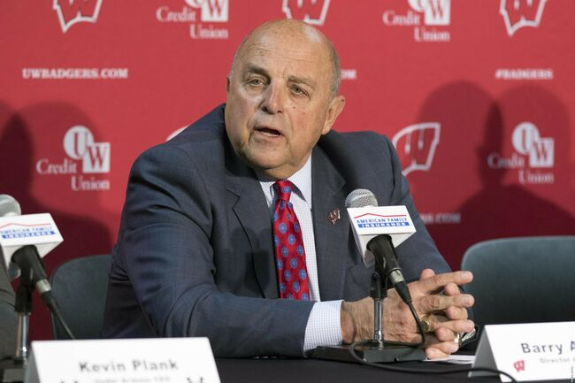 barry alvarez wisconsin badgers press conference