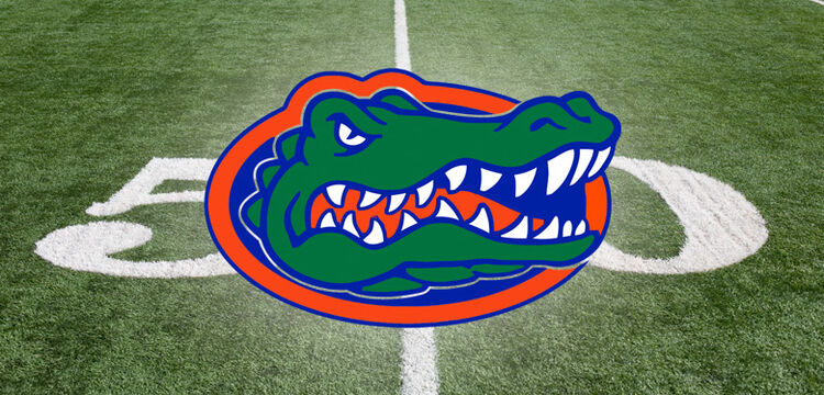 Gators Football Field Logo