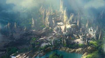 DJ Wizkidd - OMG !! Sneak Peek of Star Wars: Galaxy's Edge at DISNEY