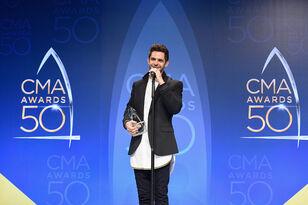 Thomas Rhett Dreams of Hosting the CMA Awards