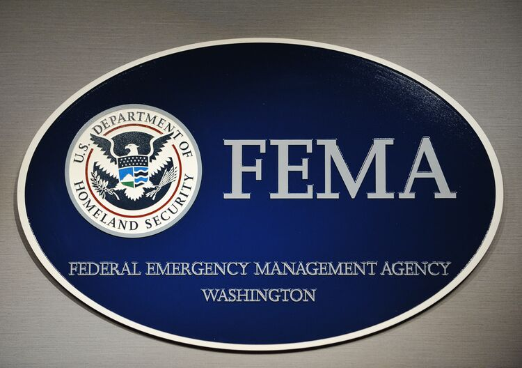 The logo of the Federal Emergency Manage