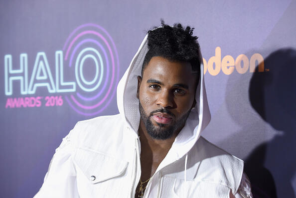 NEW YORK, NY - NOVEMBER 11:  Jason Derulo attends the 2016 Nickelodeon HALO awards at Basketball City Pier 36 - South Street on November 11, 2016 in New York City.  (Photo by Michael Loccisano/Getty Images for Nickelodeon)