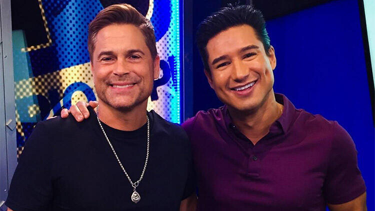 Mario Lopez and Rob Lowe