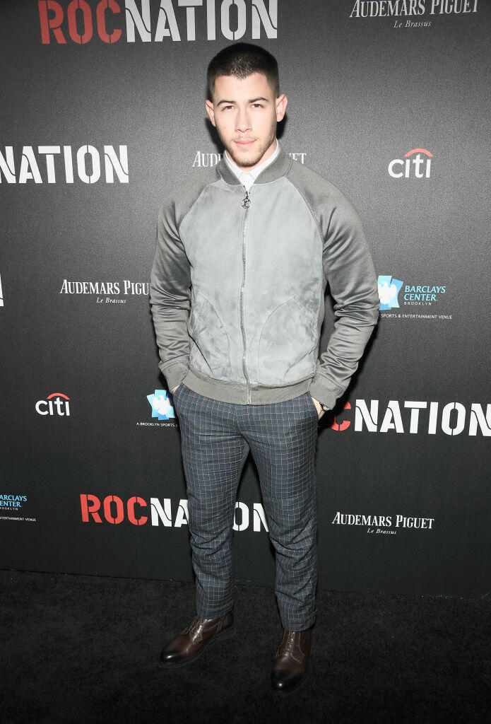 LOS ANGELES, CA - FEBRUARY 11:  Singer-songwriter Nick Jonas attends 2017 Roc Nation Pre-Grammy Brunch at a private residence on February 11, 2017 in Los Angeles, California.  (Photo by Frazer Harrison/Getty Images for Roc Nation)