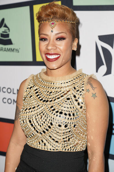LOS ANGELES, CA - FEBRUARY 09:  Recording artist Keyshia Cole attends 2017 Essence Black Women in Music at NeueHouse Hollywood on February 9, 2017 in Los Angeles, California.  (Photo by Leon Bennett/Getty Images for Essence)