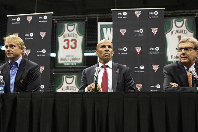 Milwaukee Bucks Introduce Jason Kidd