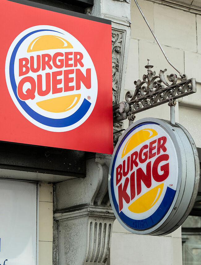 Fast Food Chain Changes Name To Burger Queen To Mark 90th Birthday Of Queen Elizabeth II