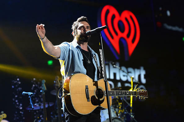 AUSTIN, TX - APRIL 30:  Recording artist Thomas Rhett performs onstage during the 2016 iHeartCountry Festival at The Frank Erwin Center on April 30, 2016 in Austin, Texas.  (Photo by Ethan Miller/Getty Images for iHeartMedia)