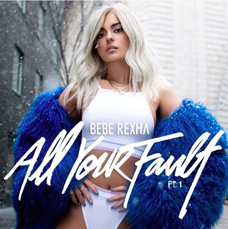 Bebe Rexha - 'All Your Fault Pt 1' Cover Art