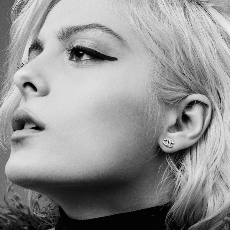 Bebe Rexha Black and White Pic