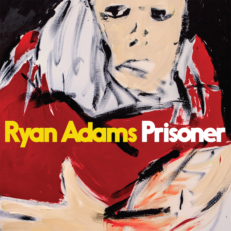Ryan Adams - 'Prisoner' Abstract Album Cover Art