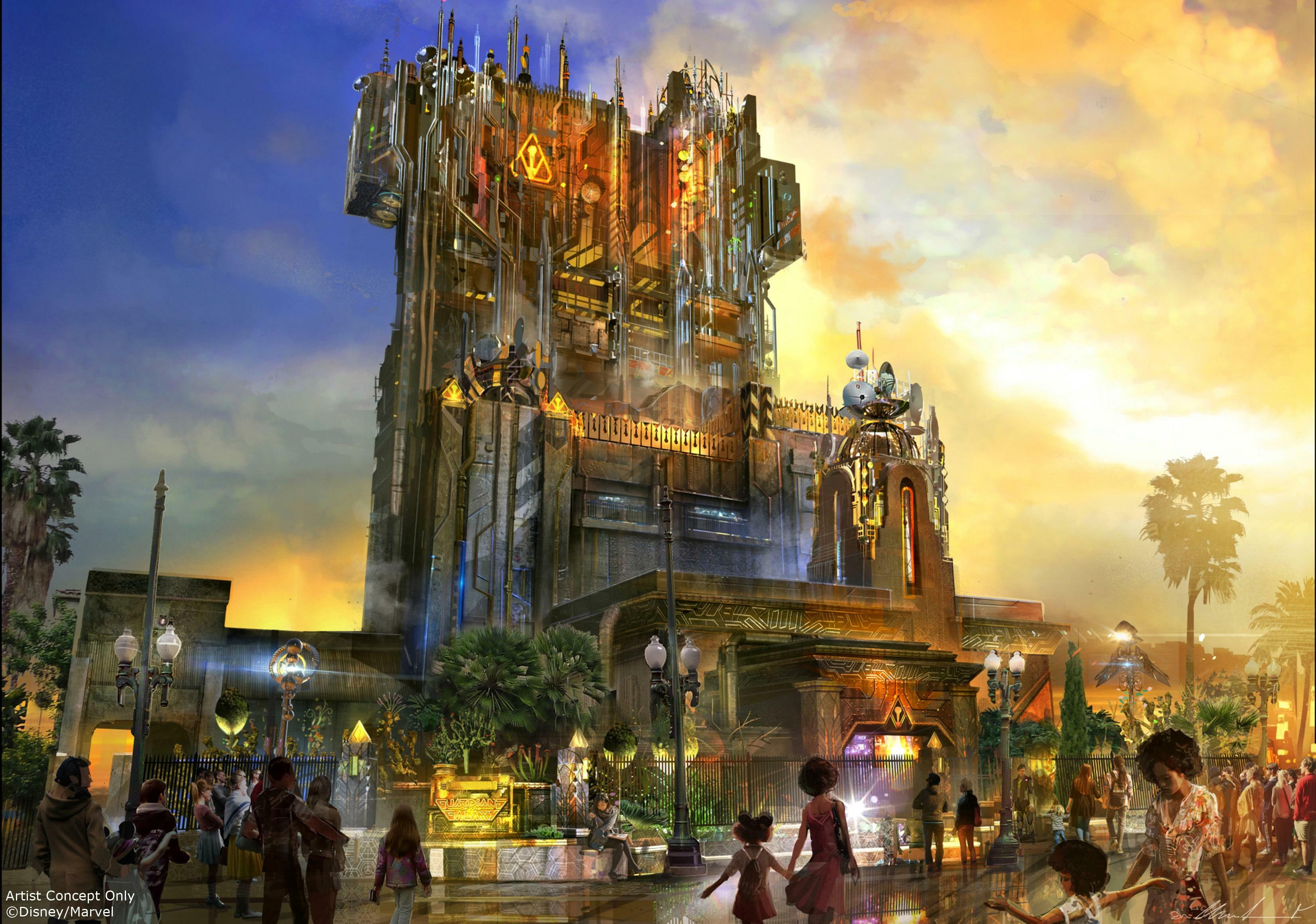 The Guardians of the Galaxy - Themed Lands Coming to Disney