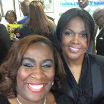 Sherry Mackey and Cece Winans