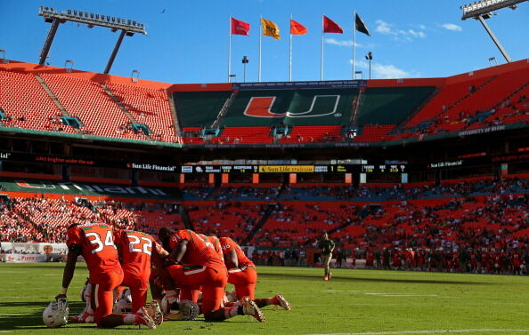 University of Miami Football Stadium