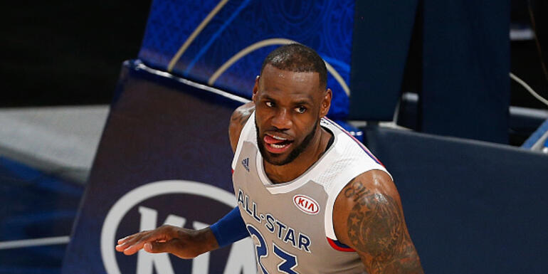 Team LeBron Beats Team Stephen in All Star Game