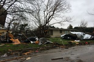 Four Tornadoes Confirmed in San Antonio Storm, One Was on the Ground for 4 Miles!