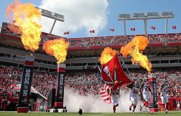 Raymond James Stadium Tampa Bay Buccaneers Introductions
