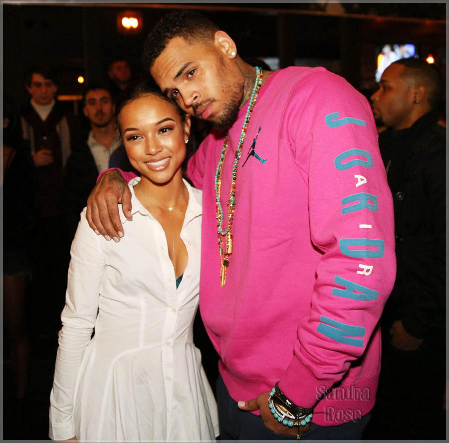 The Emmy nominated web series 'The Bay' season wrap party at Open Air in West Hollywood  Featuring: Karrueche Tran, Chris Brown Where: West Hollywood, California, United States When: 24 Nov 2014 Credit: WENN.com