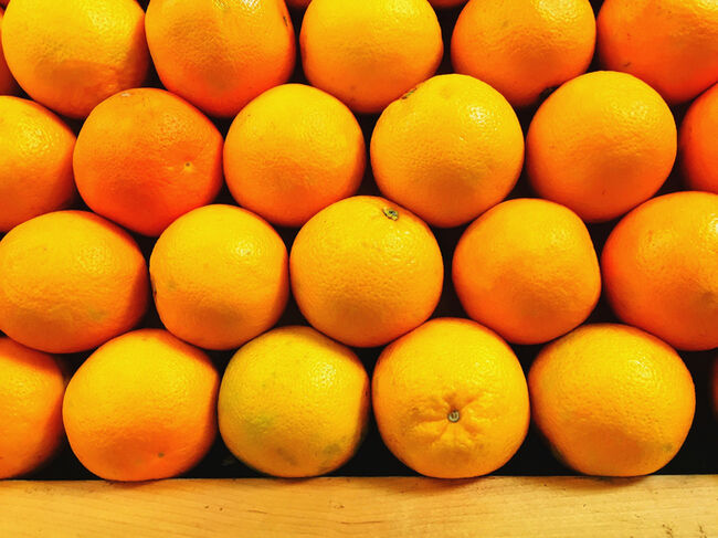 Stack Of Oranges