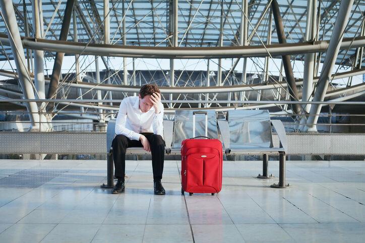 delay of the flight