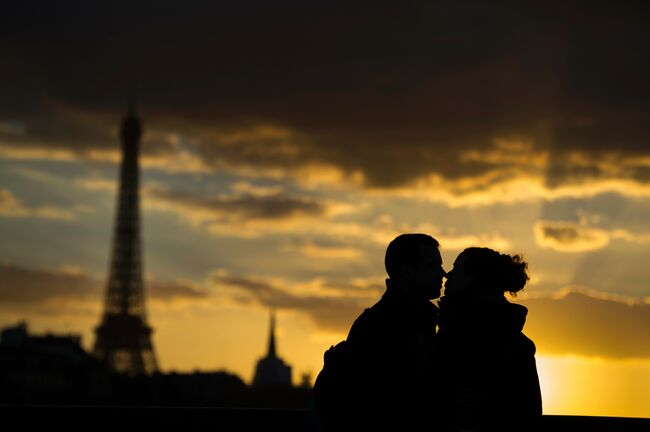 FRANCE-PARIS-FEATURE-LOVE-THEME