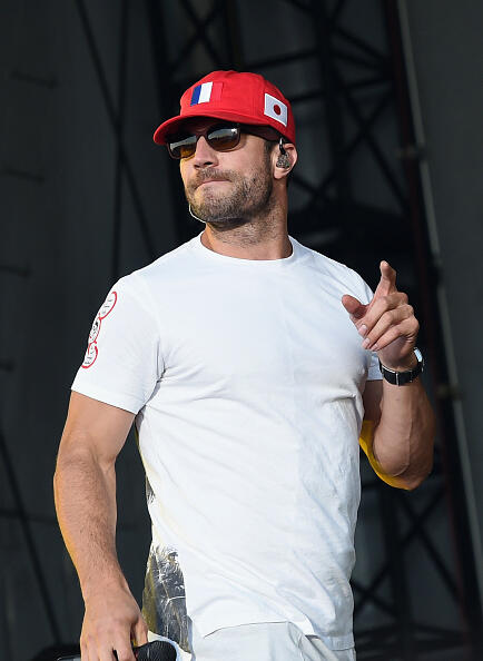 CHICAGO, IL - JUNE 17:  Singer/Songwriter Sam Hunt performs during 2016 Windy City LakeShake Country Music Festival - Day 1 at FirstMerit Bank Pavilion at Northerly Island on June 17, 2016 in Chicago, Illinois.  (Photo by Rick Diamond/Getty Images)