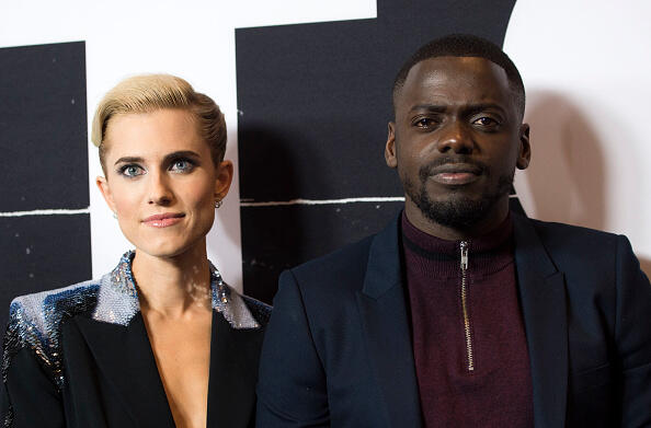 Actors Allison Williams (L) and Daniel Kaluuya attend the Universal Pictures Special Screening of